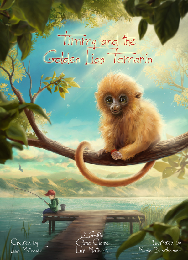 Timmy and the Golden Lion Tamarin